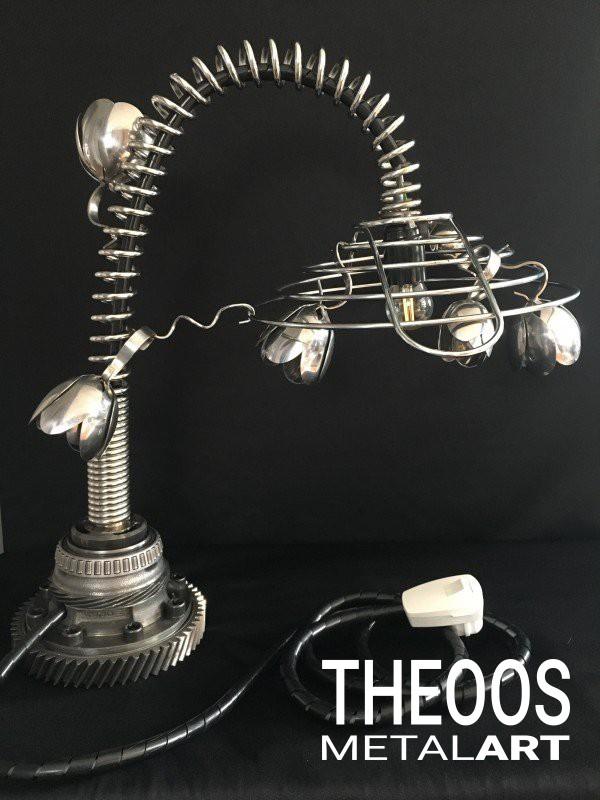 Lamp van fruitmand / spoelkraan | Foto #